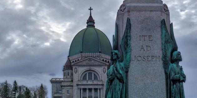 L'oratoire Saint-Joseph de Montréal, au Canada (photo