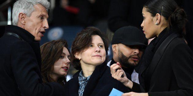La ministre des Sports Roxana Maracineanu, ici lors du dernier match PSG-OM,