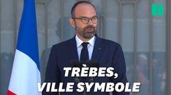 Edouard Philippe honore Arnaud Beltrame,