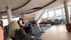Une croisière norvégienne en perdition filmée par ses