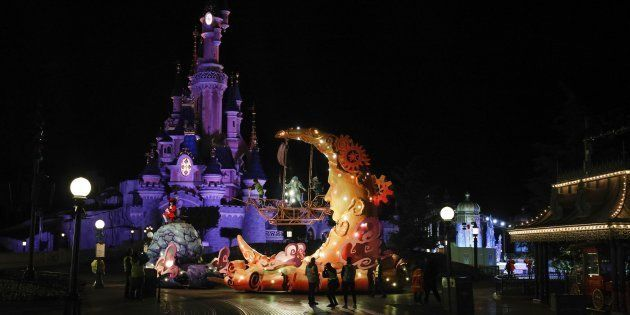 Un problème mécanique a provoqué un mouvement de foule à Disneyland Paris, ce 23 mars (Image
