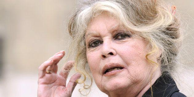 Brigitte Bardot à l'Élysée en