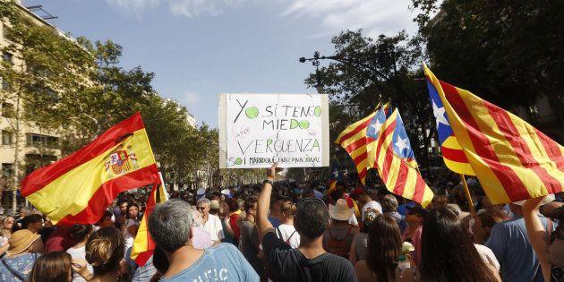 Barcelona no tiene miedo, el independentismo