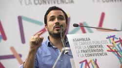 Alberto Garzón ataca a la Policía Nacional por este