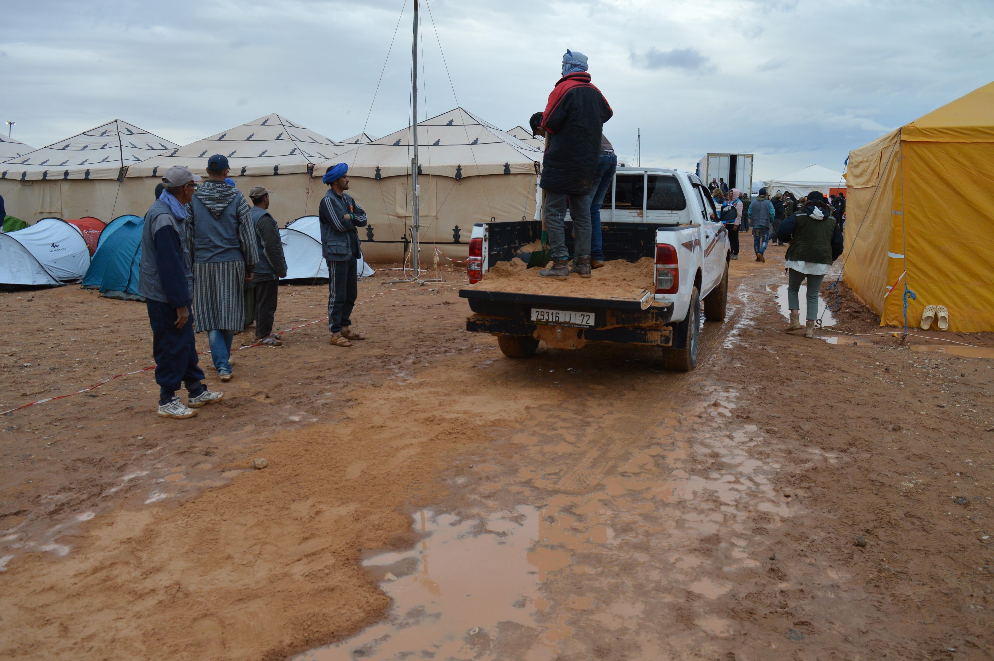 Rallye Aïcha des Gazelles: la pluie force l'annulation de la 4ème étape de la