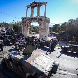 H στρατιωτική παρέλαση για την 25η Μαρτίου στην