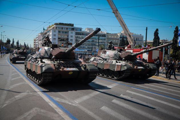 Στρατιωτική παρέλαση για την 25η Μαρτίου στην