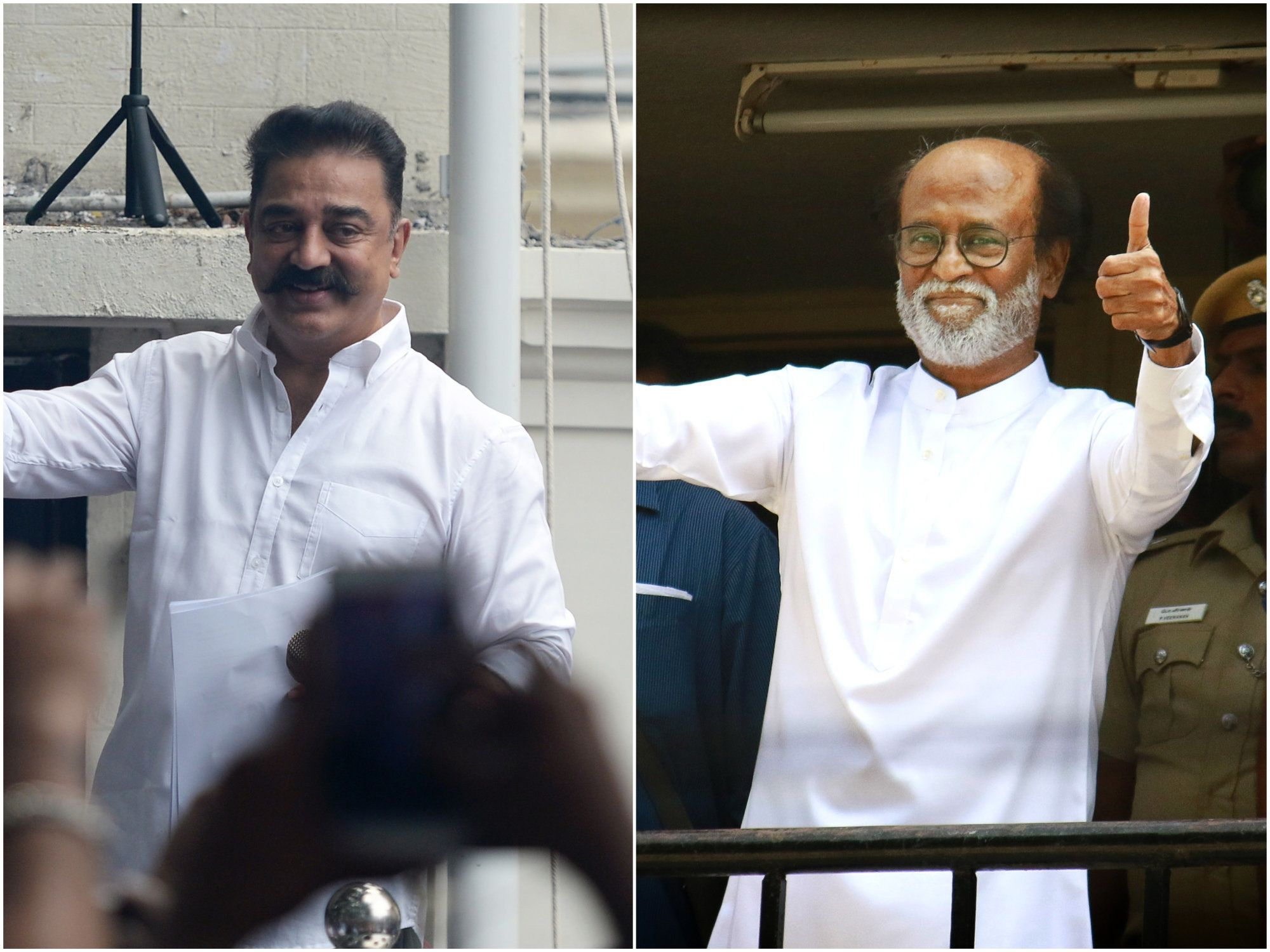 Can Rajinikanth and Kamal Haasan Convert Popularity into
