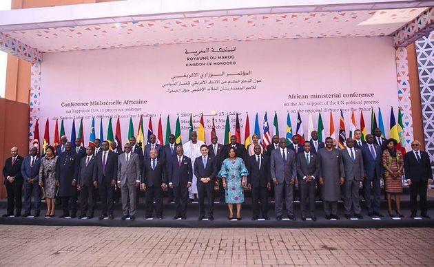 Conférence ministérielle africaine à Marrakech sur le différend régional...