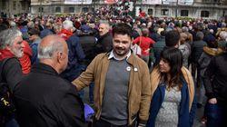 """Rufián avisa de que """"la amenaza real"""" es un pacto PSOE-Cs y no """"la llegada de los tres jinetes del apocalipsis"""" a La"""