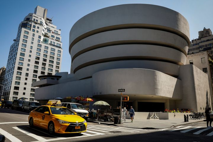 Officials for the Guggenheim Museum in New York said the institution had received $9 million from the Sackler family between