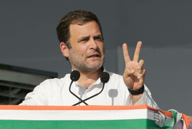 Congress President Rahul Gandhi in a file