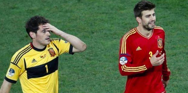 Iker Casillas vacila a Gerard Piqué por sus
