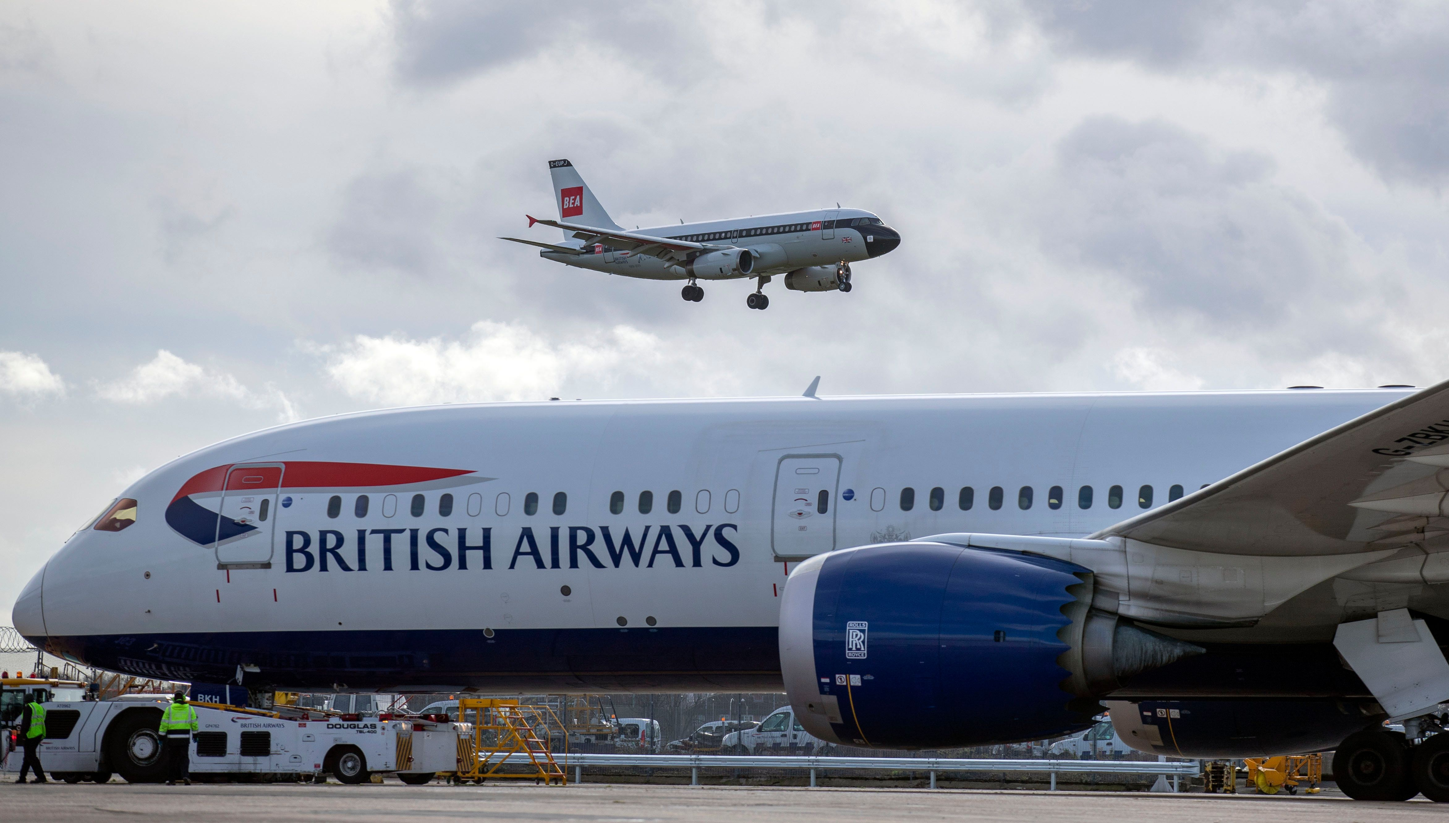 BA flight lands in Edinburgh instead of Dusseldorf by mistake