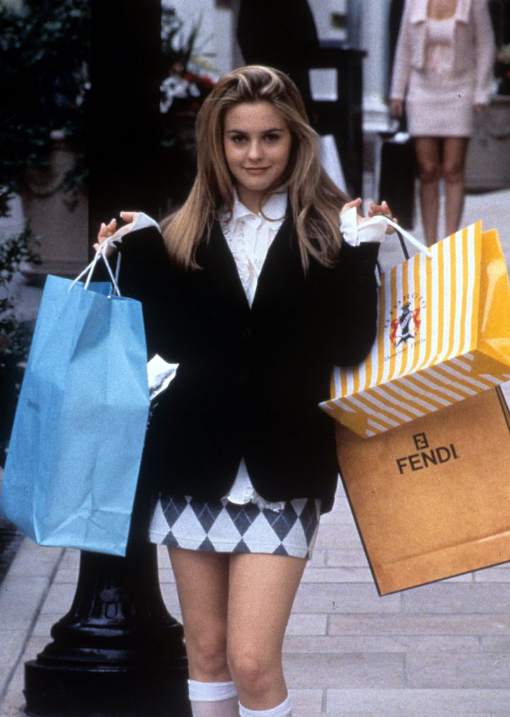"Alicia Silverstone in ""Clueless."""