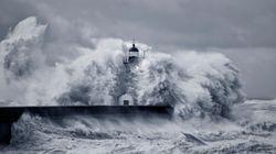 Météo: En plus de fortes rafales de vent et de vagues dangereuses, il va faire (très) chaud