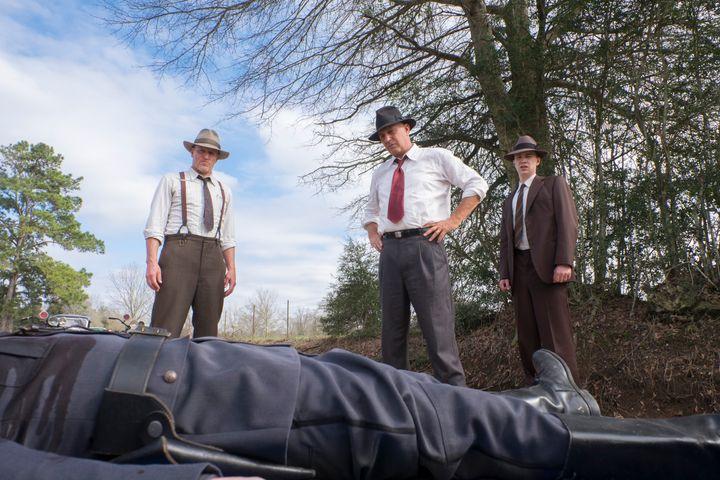 """""""The Highwaymen"""" on Netflix."""