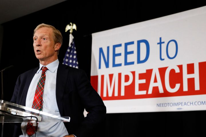 Tom Steyer argues his work in 2018 shows that winning elections is all about that base for Democrats.