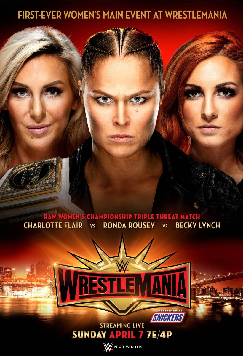 A Women's Match Will Be The Main Event At WrestleMania For The First
