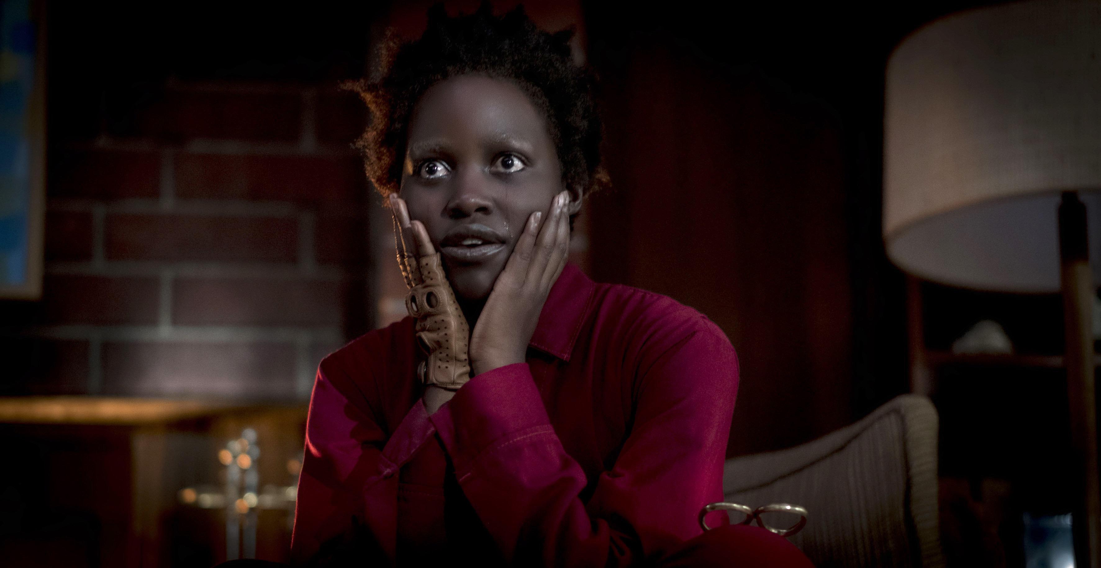 "Lupita Nyong'o in Jordan Peele's ""Us."""