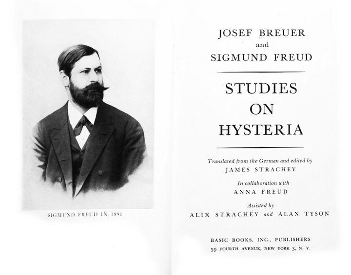 "Sigmund Freud's ""Studies On Hysteria"" was originally published in 1895."