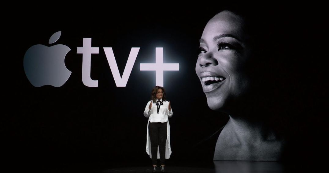 Oprah Makes Surprise Appearance At Apple Event And Everybody Loses