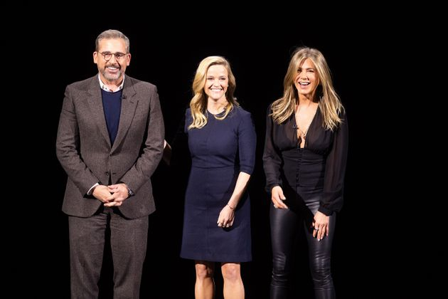 Reese Witherspoon, Jennifer Aniston and Steve Carell will star in The Morning Show for Apple