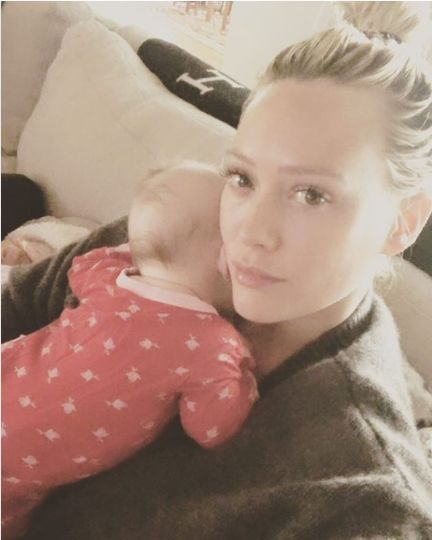 Hilary Duff Shares Sweet Video From Daughter's Water Birth