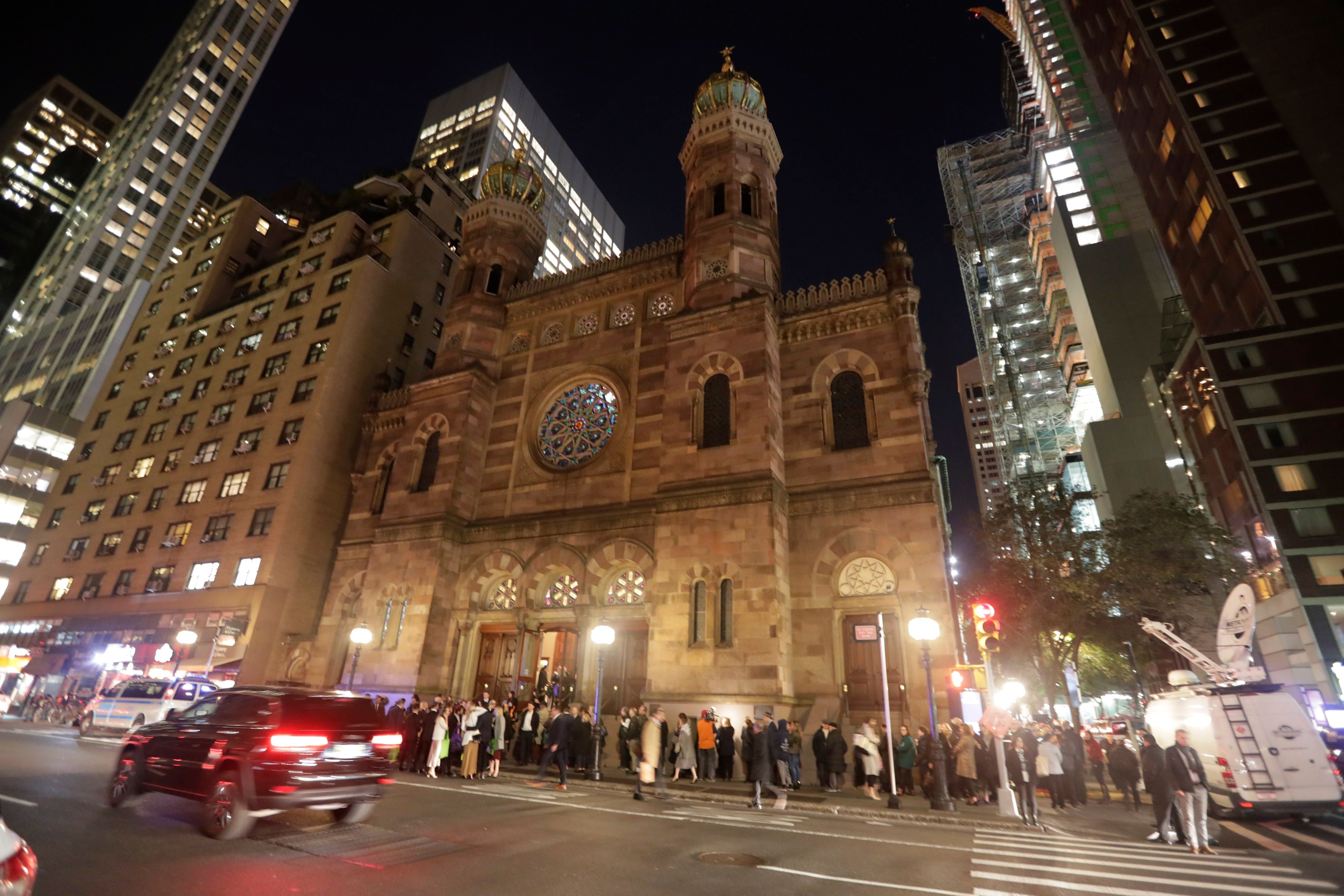 Central Synagogue is a historic Reform Jewish congregation located in midtown