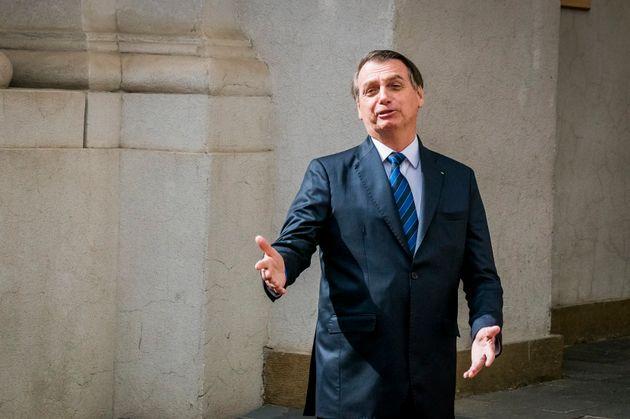 Presidente Jair Bolsonaro repete o discurso de campanha contra