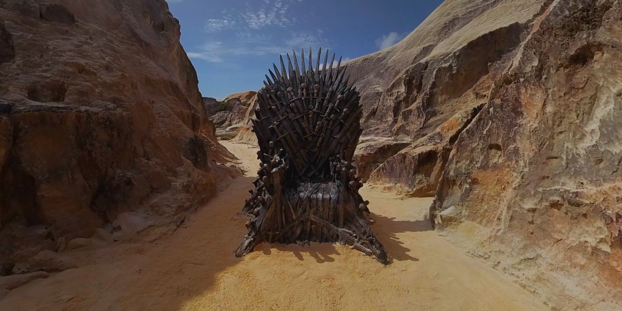 'Game of Thrones': Trono de Ferro é encontrado em praia do