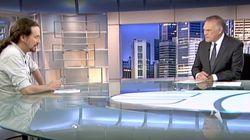 Iglesias carga contra Telecinco en Telecinco y Piqueras le responde en