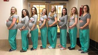 9 labor unit nurses pregnant at Maine hospital