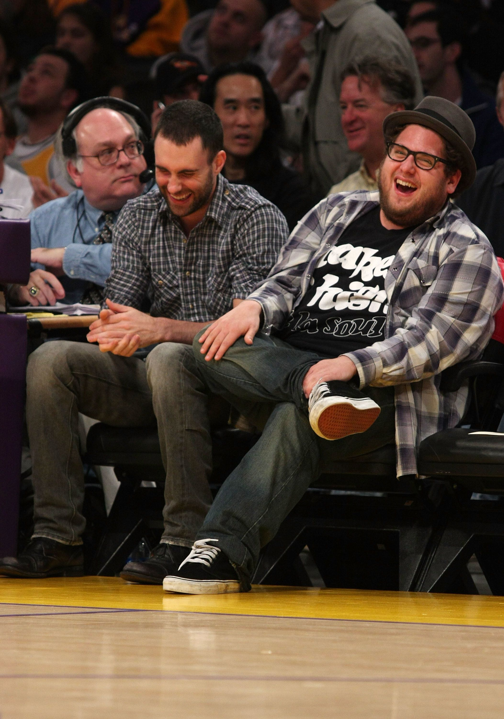 Adam Levine and Jonah Hill have been friends since they were kids.