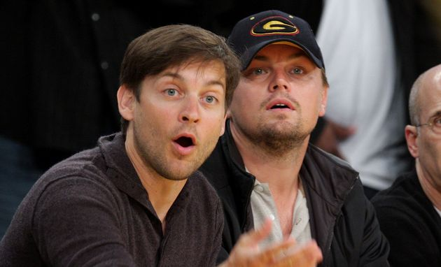 Tobey Maguire and Leonardo DiCaprio met as child actors working in