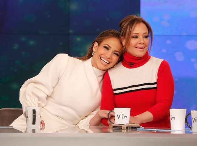 Jennifer Lopez and Leah Remini first met through Lopez's ex-husband Marc