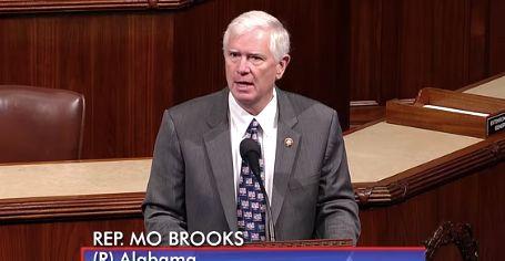 Mo Brooks, Hitler's 'Big Lie' theory