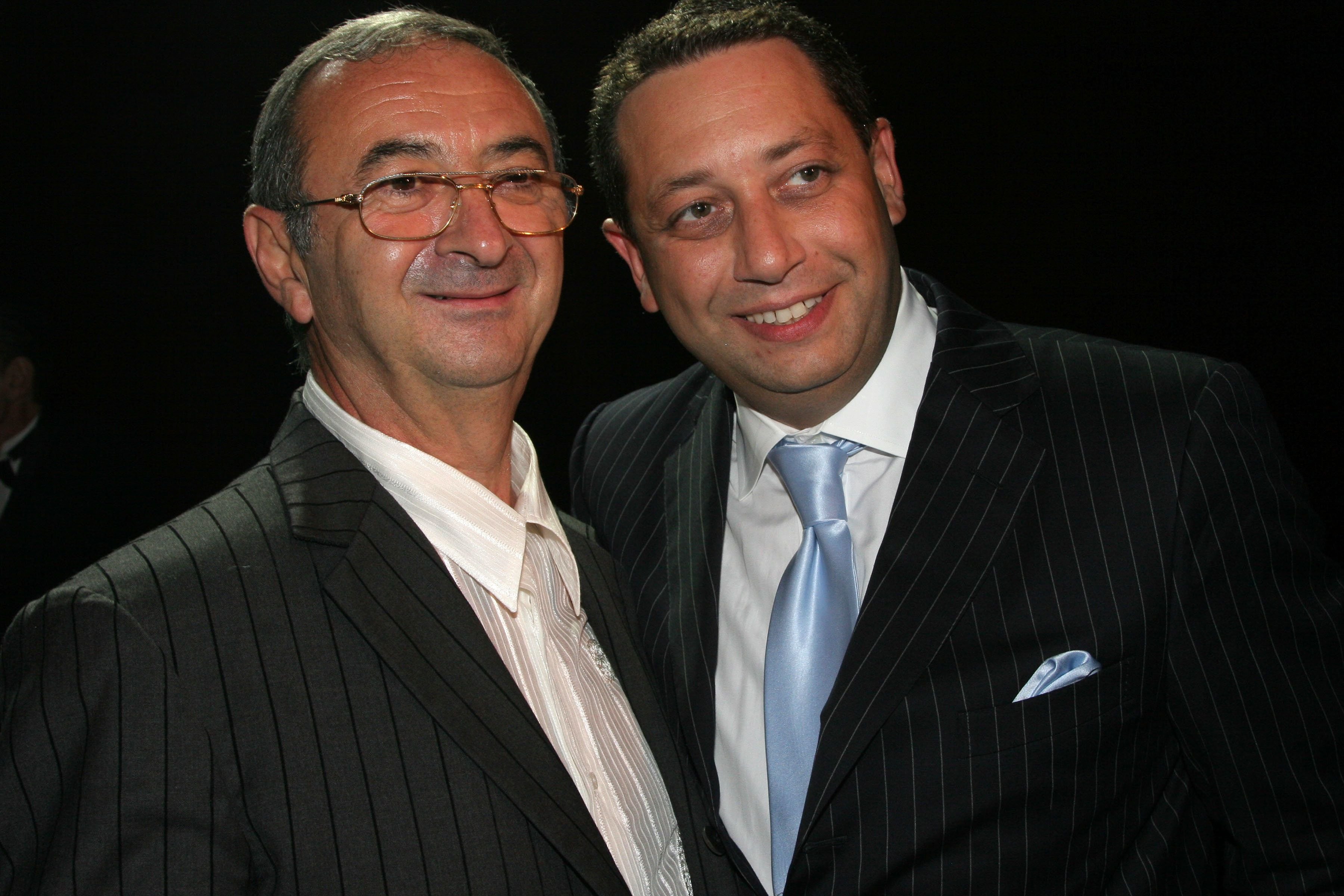 NEW YORK, NY - SEPTEMBER 19: Tamir Sapir and Felix Sater attend Trump Soho Hotel Condominium Launch Party at Tribeca Rooftop on September 19, 2007 in New York City. (Photo by WILL RAGOZZINO/Patrick McMullan via Getty Images)