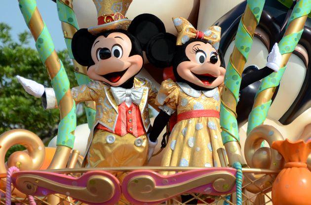 ミッキーとミニーの「ニューフェイス」(写真)