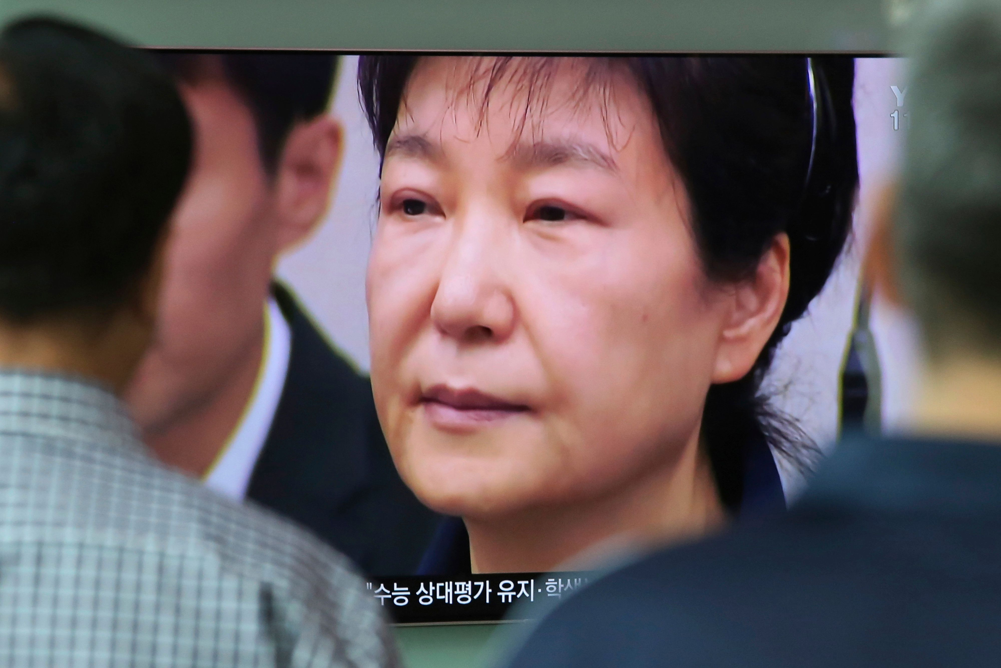 김학의 의혹에 박근혜가 '무고'라 말했다는 진술이