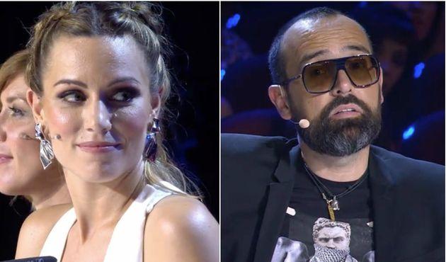 La pullita velada de Risto Mejide a Edurne en 'Got Talent' tras un voto muy