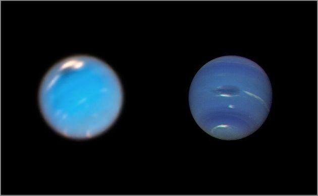 Το Hubble «είδε» τη γέννηση μιας θυελλώδους μεγάλης σκοτεινής κηλίδας στον