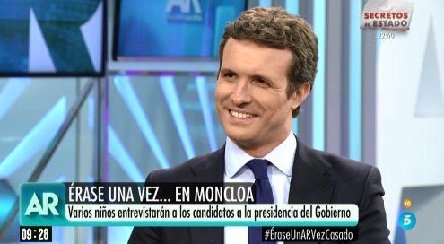 Pablo Casado en 'El programa de