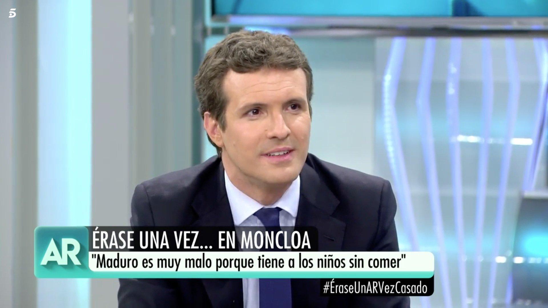 """″¿Torra o Puigdemont?"""": las preguntas de los niños que pusieron en apuros Pablo Casado en 'El programa de"""