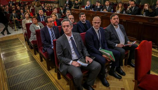 """El jefe de la Guardia Civil al mando de la investigación califica de """"insurreccional"""" el clima en Cataluña tras el"""