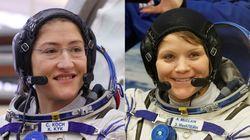 Se frustra el primer paseo espacial con mujeres por falta de un traje