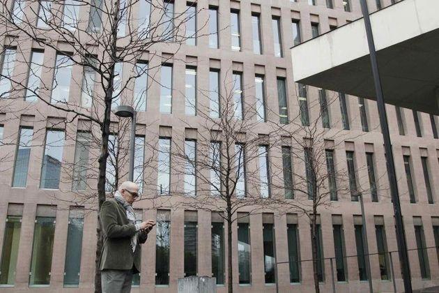 Manuel Barbero, en la Ciudad de la Justicia de Barcelona el pasado