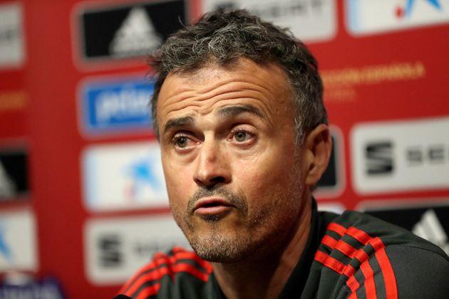 Luis Enrique no estará en el España-Malta