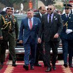 Le roi Abdallah II de Jordanie effectue une visite d'amitié et de travail de deux jours au