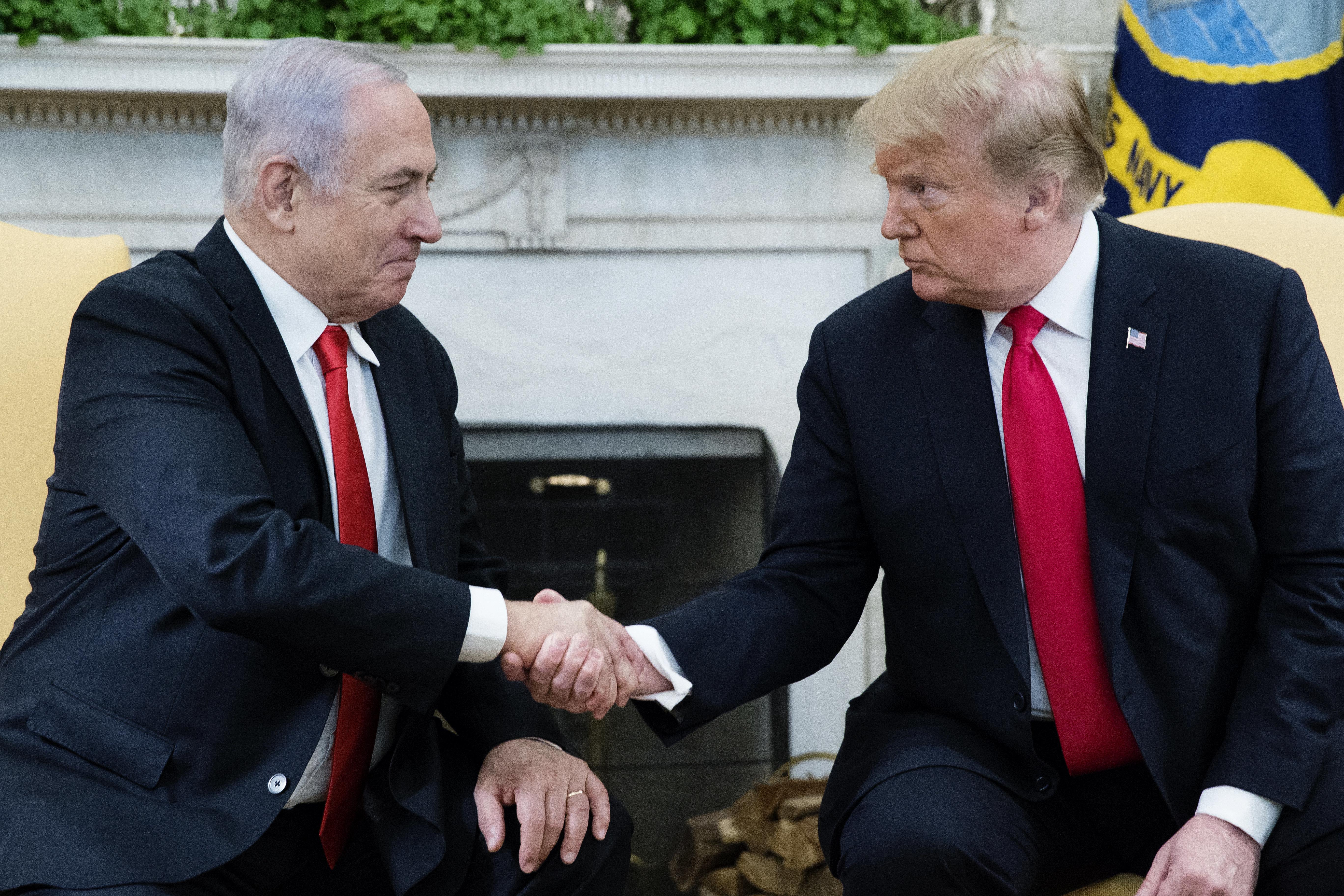 Des pays dénoncent la décision de Trump de reconnaître la souveraineté d'Israël sur le